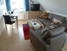 Ferienwohnungen Kolks Neuharlingersiel, Wohnung 2, gemütliches Wohnen und Essen für Zwei