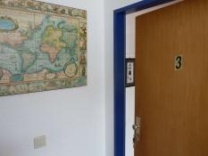 Ferienwohnungen Kolks Huus Neuharlingersiel, Eingang zur Ferienwohnung 3