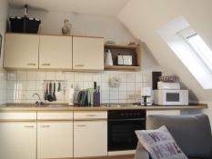 Ferienwohnungen Kolks Huus Neuharlingersiel, Wohnung 3, komplett eingerichtete Küche