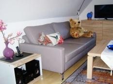 Ferienwohnung 3, Ferienwohnungen Kolks Huus in Neuharlingersiel mit Stereoanlage und Flachbildfernseher