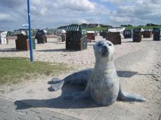 Ferienwohnungen Kolks Huus nahe dem großen Sandstrand von Neuharlingersiel an der Nordsee
