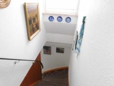 Treppenaufgang zu den Wohnungen 2 und 3